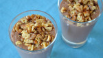 Looking for a way to beat the summer heat? Here's a healthy sweet treat that will cool you down!! Rick's Chocolate-Walnut Smoothie