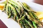 Asparagus with Pistachio and Lemon