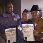 Flowers and Caputo Receive Honors  for Serving Cancer Survivors